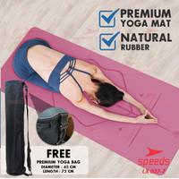 Matras Yoga Mat Pu Karet Matras Premium Karpet Spons Speeds 027-7