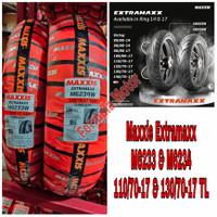 Sepasang Ban Maxxis Extramaxx 110/70-17 & 130/70-17 Free Pentil