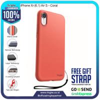 Ringke iPhone Xr Air S Coral Softcase Slim Anti Crack Bump