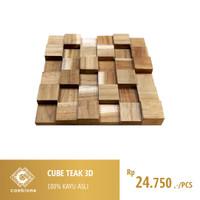 Cube Teak 3D