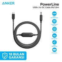 Anker PowerLine USB-C to DC Cable 6ft - A2660011