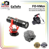 Catefo FO-VM01 Shotgun Video Microphone Mic for DSLR Camera Smartphone