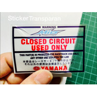 sticker Yamaha Mio