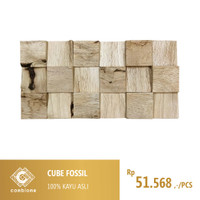 Cube Fossil / Wall Paneling Covering Cladding