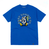 BABY ZOMBIE - Flutter Royal Blue Tshirt