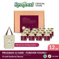 Realfood Forever Young+ Fully Concentrated Bird's Nest dengan Kolagen