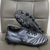 SEPATU BOLA MIZUNO MORELIA NEO 3 Beta FULL Black Fg - Sepatu soccer