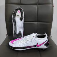 Sepatu Bola Nike Phantom GT Elite White Pink Blast - Sepatu soccer