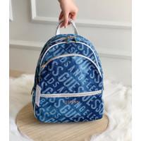 Tas Guess Manhattan Backpack Bag - Denim
