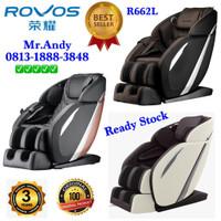 Kursi Pijat / Massage Chair ROVOS R662L Black Gold ORIGINAL