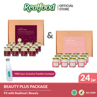 Realfood Beauty Package Minuman Sarang Burung Walet Twin Forever Young