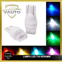 Lampu Led T10 Keramik Senja Sein Motor Mobil Ceramic Anti Panas