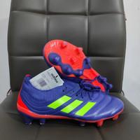 Sepatu Bola Adidas Copa 20.1 Blue Orange FG - Sepatu Soccer