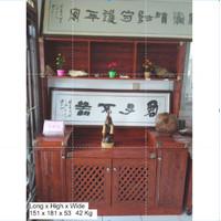 lemari aluminium / meja hias /lemari hias /meja kantor /lemari kator