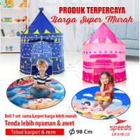 Tenda Anak Bermain Model Castle Kids Camping indoor SPEEDS 018-23