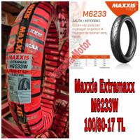 Ban Maxxis 100/80-17 Extramaxx M6233W Tubeless