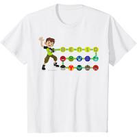 Baju Anak Ben 10 Omnitrix Alien Icons T-Shirt