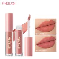 PINKFLASH #OhMyKiss Matte Lipstik Lembut Pigmentasi Tinggi PFL01