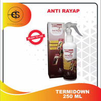 Termidown 250 ML Obat Anti Rayap Ampuh untuk Kayu & Tanah Ready To Use