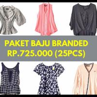 Paket Baju branded
