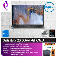 Dell XPS 13 9300 4K UHD Touch i7 1065G7 32GB 1TBssd W10Pro 13.4