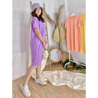 basic dress - Lilac