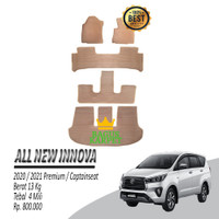 Karpet Mobil All New Innova CAPTAIN SEAT 2020/2021 Premium Tipe Jahit