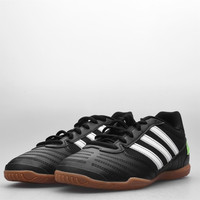 Sepatu Futsal Adidas Super Sala Black White Green
