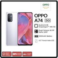 OPPO A74 5G 6/128 GB Garansi Resmi