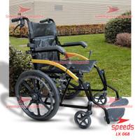 Kursi Roda Traveling Speeds Bisa Dilipat Kursi roda Alluminium 068-4