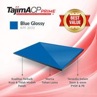 ACP Aluminium Composite Panel TAJIMA 3mm Indoor - Blue Glossy