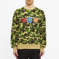 Bape ABC Shark Crewneck Sweatshirt 100% Original - M
