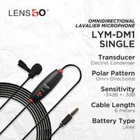 Microphone Lensgo Mini Lavalier LYM-DM1 Single