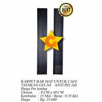 Karpet Bar Mat Cafe Tatakan Gelas Anti Pecah 8x60cm