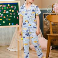 Baju tidur anak piyama setelan anak laki-laki (2-12tahun)