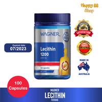 Wagner Lecithin 1200 isi 100 kapsul ORIGINAL Australia
