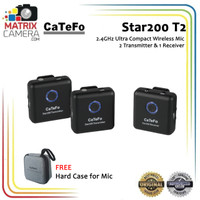 Catefo Star200 T2 2.4GHz Ultra Compact Digital Wireless Microphone