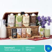 137 Degrees Susu Milk UHT vegan sehat 1 L almond walnut pistachio