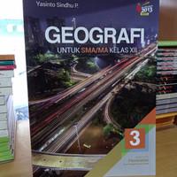 Buku GEOGRAFI Peminatan SMA Kelas 12 K13N Penerbit Erlangga