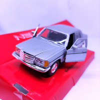Diecast Miniatur Mobil Mercedes benz W123 classic Mainan Mobil klasik