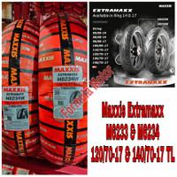 Sepasang Ban Maxxis Extramaxx 120/70-17 & 140/70-17 Tubeless