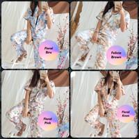 Setelan Piyama Wanita HomeWear One Set Trendy Bisa Untuk Outfit Jalan