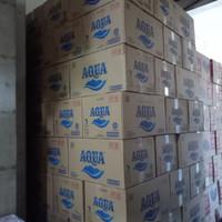 Aqua Air Mineral Gelas 220ml 1 dus 48cup