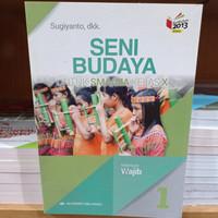 Buku Seni Budaya Wajib SMA Kelas 10 K13N Penerbit Erlangga
