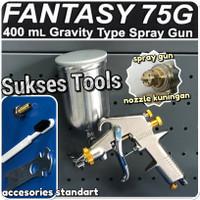 F75 G Alat Semprot Cat Spray Gun Tabung Atas Lakoni Fantasy F 75 G