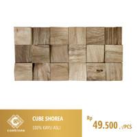 Cube Shorea / Wall Paneling Covering Cladding