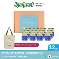 Realfood Wonder Mom Fully Concentrated Bird's Nest dengan Asam Folat