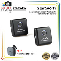 Catefo Star200 T1 2.4GHz Ultra Compact Digital Wireless Microphone