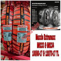 Maxxis Extramaxx 100/80-17 & 120/70-17 Tubeless   Ban Motor Moge