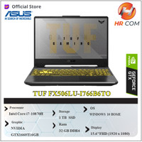 Asus TUF Gaming F15 FX506LU GTX1660Ti i7-10870H 32GB 1TB W10 15,6FHD